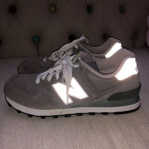 Grey New Balance Shoes